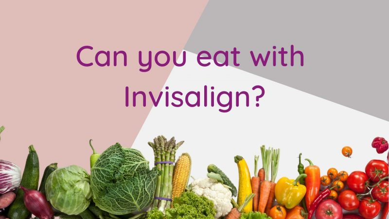 Eat with Invisalign cover