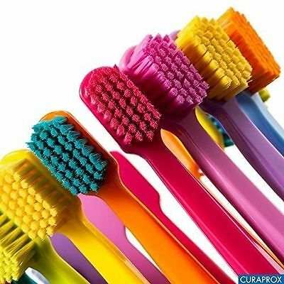 colours of curaprox toothbrushes
