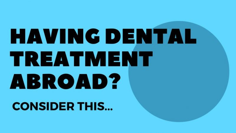 dental treatment abroad cover
