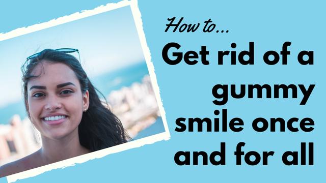 gummy smile treatment cover