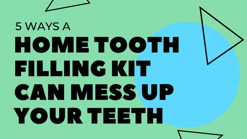 tooth filling kit cover