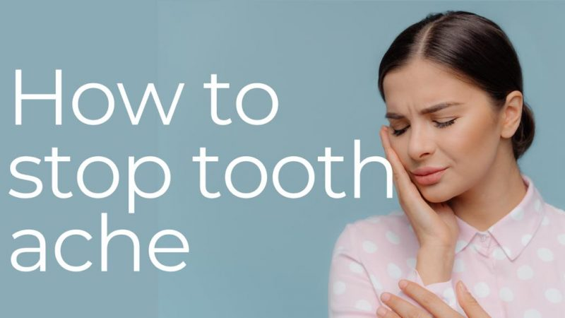 how to stop toothache cover