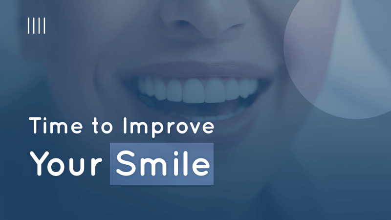 Time to improve your smile image